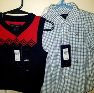 Tommy Hilfiger Toddler Shirt & Vest